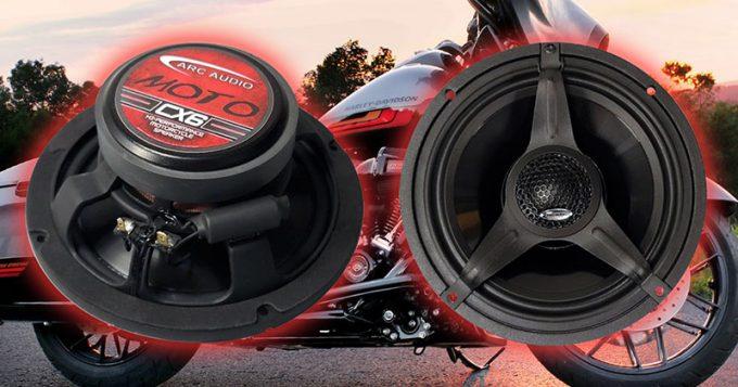 Product Spotlight: ARC Audio MOTO CX6 Motorcycle Speakers